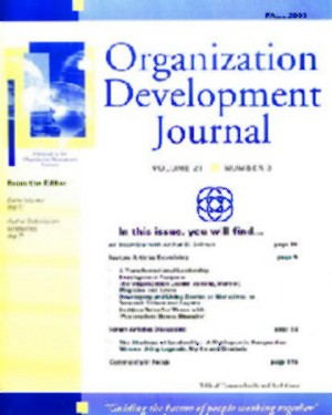 The Organization Development Journal - El principal medio sobre Desarrollo Organizacional